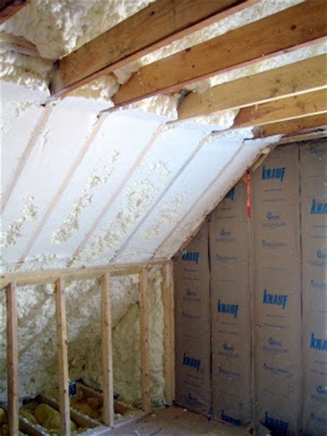 new house in waban cathedral ceiling insulation