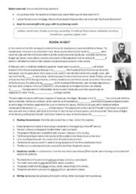 English Teaching Worksheets Russia