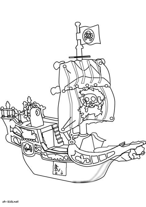 Dessin Animé Bateau Pirate by Coloriage Bateau Pirate Dessin Anim 233 Dessin Gratuit 224 Imprimer