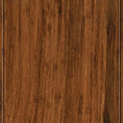 home legend strand woven toast click lock bamboo flooring 5 in x 7 in take home sle hl