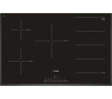 Buy BOSCH PXV851FC1E Electric Induction Hob  Black Free