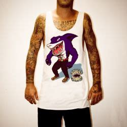 Uncle Reco Boats N Hoes by Larry Bird White Singlet Uncle Reco