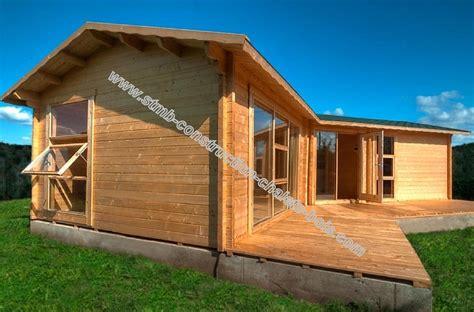 chalet en bois mod 232 le volvic 48 m 178 avec terrasse de 18 m 178