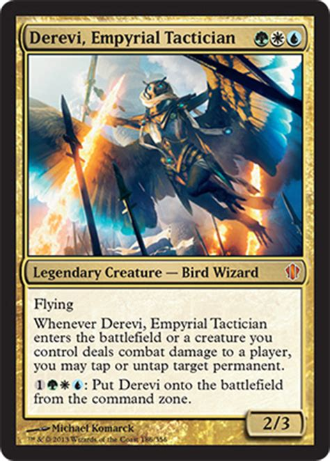 derevi empyrial tactician from commander 2013 spoiler