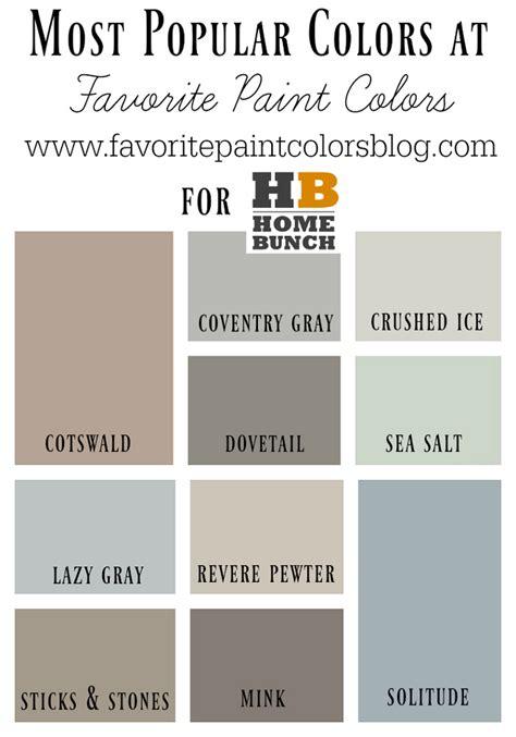 Benjamin Moore Most Popular Colors  Bing Images