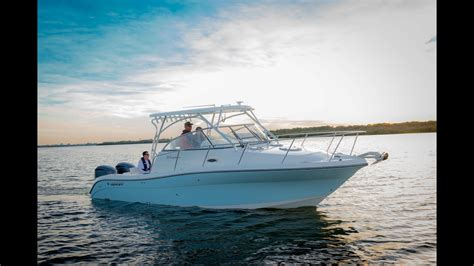 Cabin Cruiser Fishing Boat For Sale by Century Boats 30 Express Walk Around Boats Outboard