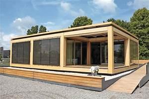 Fertighaus Bungalow Holz : fertigh user im bungalowstil 43 atemberaubende beispiele ~ Markanthonyermac.com Haus und Dekorationen