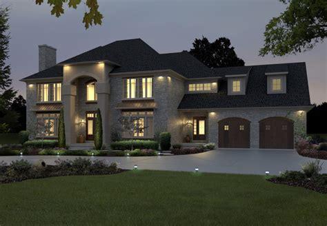Classic Modern House Design Large — Modern House Plan