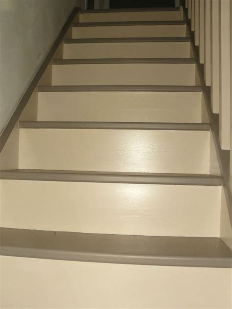 mise en peinture de l escalier house