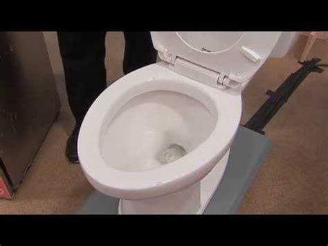 water saving american standard toilet won t clog