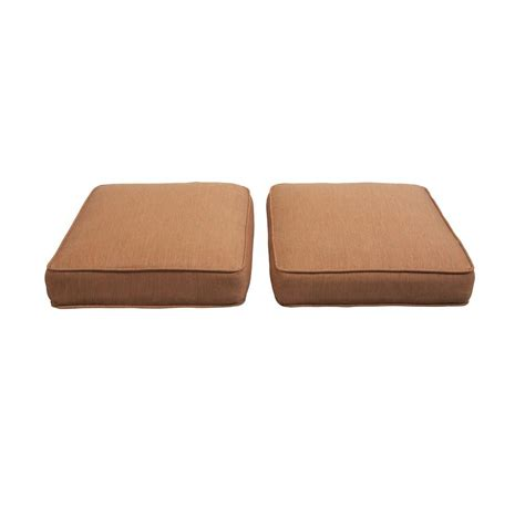 hton bay niles park replacement outdoor ottoman cushion 2 pack s2 zzh01599 the home depot