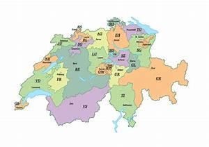 Italienische Schweiz Karte : kantone italien ~ Markanthonyermac.com Haus und Dekorationen