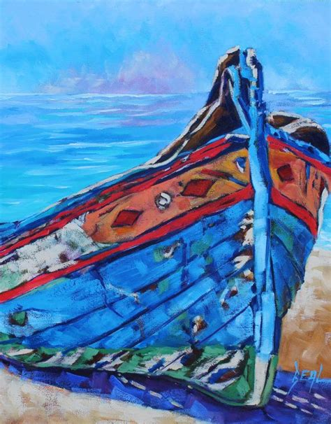 Boat Paintings By Famous Artists by Best 25 Boat Painting Ideas On Pinterest Emphasis In