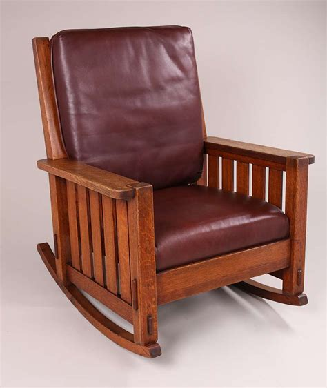 charles stickley rocker california historical design