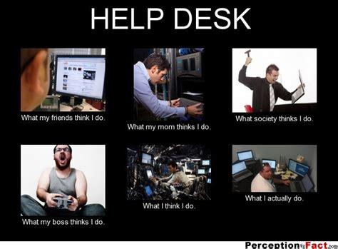 what i really do help desk