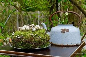 Mit Moos Basteln : moostorte mit wachteleiern karin urban naturalstyle ~ Whattoseeinmadrid.com Haus und Dekorationen