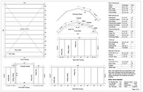 free shed plans 12x16 asplan