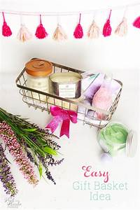 Easy and Beautiful DIY Mother's Day Gift Basket Idea