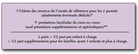 caf comment calculer quotient familial qf le officiel de la caf 71