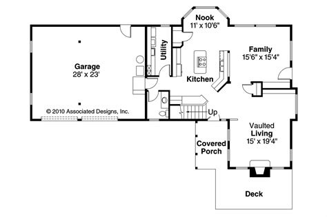 Tudor House Plans-walcott-associated Designs