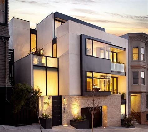 awesome modern architectural exterior home design luxury modern home exterior design of russian hill