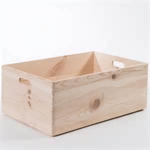 boite de rangement en pin brut 224 customiser avec poign 233 es box compactor home