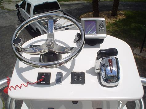 Boat Tower Control Station by 2010 Thread Fin 24 Reduced Price The Hull Truth