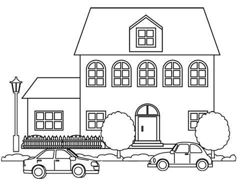87 dessins de coloriage maison 224 imprimer sur laguerche page 2