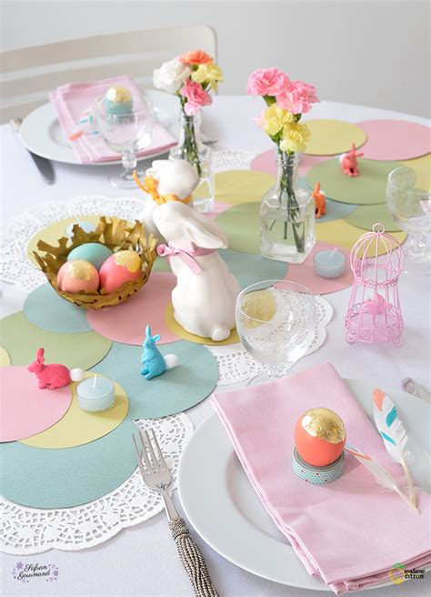 table de f 234 te de p 226 ques madame citron de cr 233 ations et diy