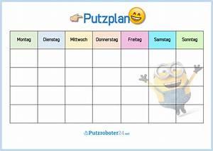 Wochenplan Haushalt Familie : putzplan vorlage f r familie mit minions to do liste putzplan pinterest putzplan ~ Markanthonyermac.com Haus und Dekorationen