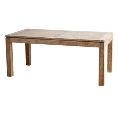 table repas extensible en teck macao origin s meubles