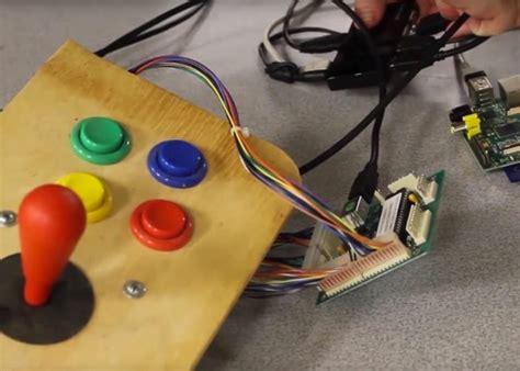 diy raspberry pi arcade cabinet geeky gadgets