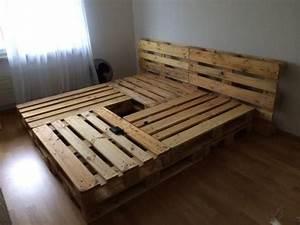 Bett Aus Europaletten Selber Bauen 140x200 : die 25 besten ideen zu bett aus paletten auf pinterest loft betten mezzanine bett und ~ Markanthonyermac.com Haus und Dekorationen