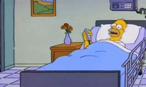 bed goes up bed goes the simpsons gif