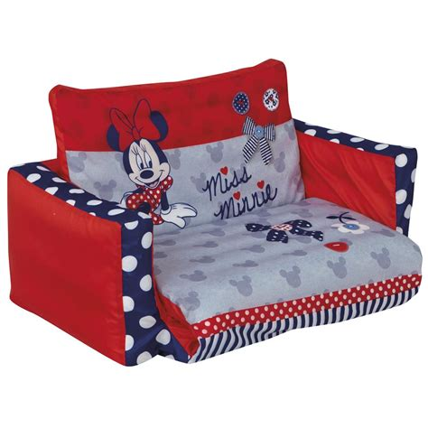 minnie mouse flip out sofa new boxed disney official ebay