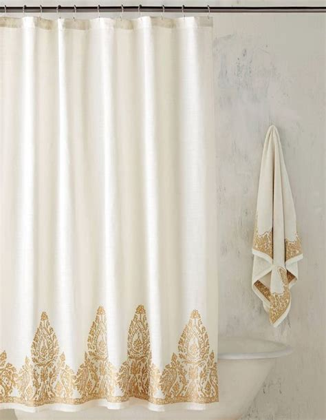 17 best ideas about gold shower curtain on