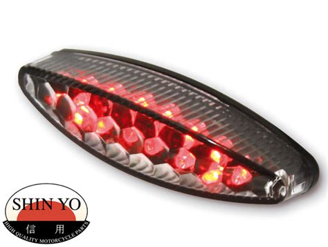 Shin Yo Little Number 1 Led Motorcycle Rear Stop And Tail Light, Rear Stop & Tail Lights