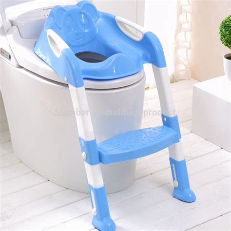 Potty Chairs For Toddlers by Baby Potty Seat With Ladder Children Toilet Seat Cover