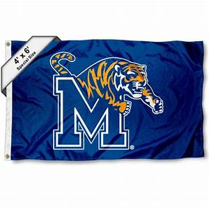 University of Memphis Large 4x6 Flag and 4x6 Large Flag ...