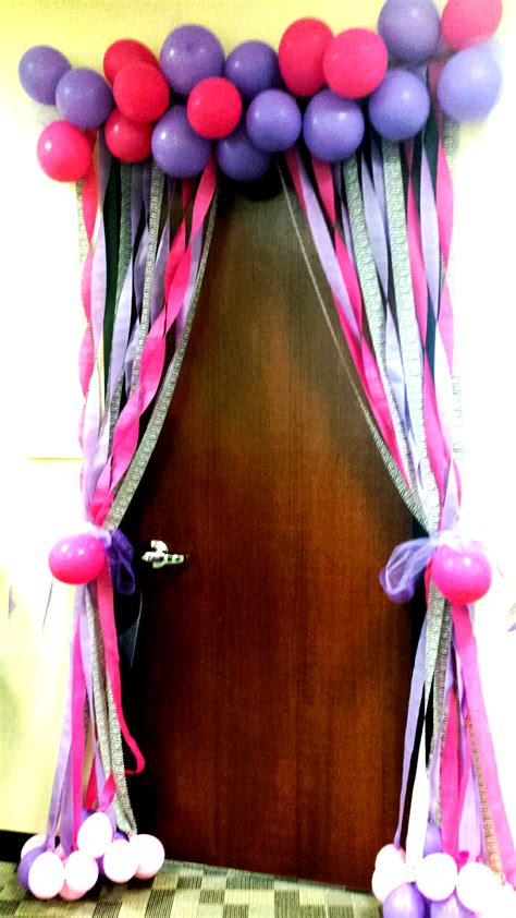 birthday celebrations at the office decorate a fellow employee s door the bohemian birthday