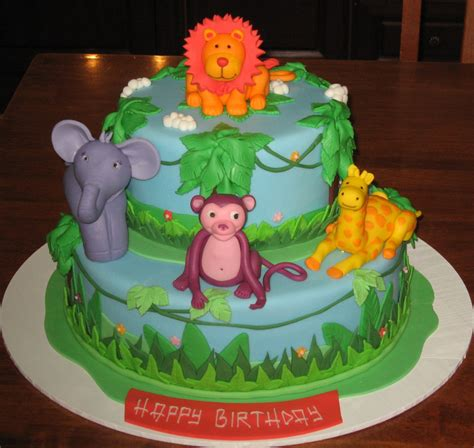 jungle theme cake let them eat cake jungle animal themed cake