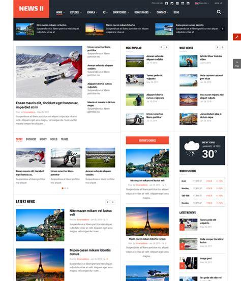Top Free Templates Joomla by Top 10 Awesome Free Premium News Magazine Joomla 3 7