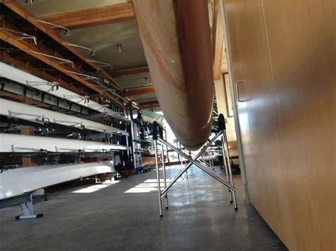 Triple Sculling Boat by The New St 228 Mpfli Wooden Triple Rat Island Rowing And