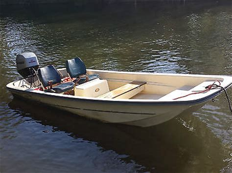 13 Ft Fishing Boat For Sale Uk by Fletcher Dell Quay Dory Fishing Day Boat 13 Foot Mariner