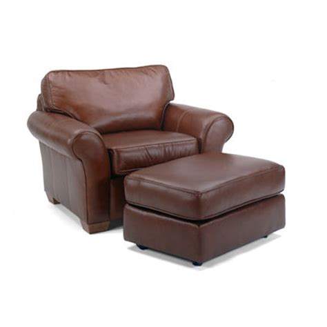 flexsteel 3305 10 08 vail chair and ottoman discount furniture at hickory park furniture galleries