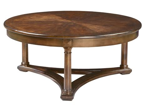Round Living Room Furniture, Round Wood Coffee Tables