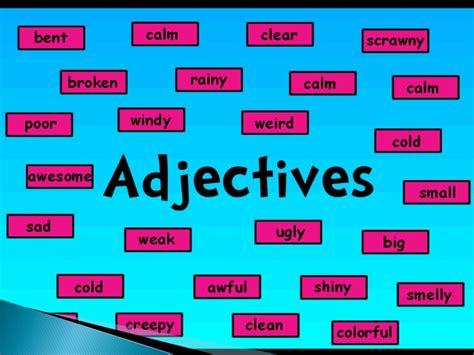 Adjective Describe Noun
