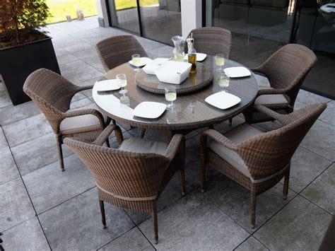 table de jardin ovale plateau en verre tremp 233 sussex en r 233 sine tress 233 e
