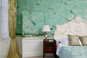 Vintage Zimmer Einrichten : 50 vintage tapete ideen die dem raum einen unvergleichbaren charme vermitteln ~ Markanthonyermac.com Haus und Dekorationen