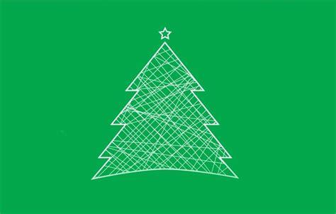 Wallpaper Christmas, Tree, Minimalism Images For Desktop